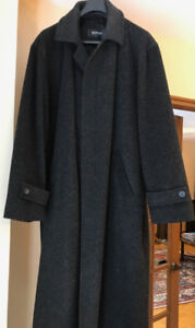 REDUCED - Classic Chic Baumler Long Winter Coat, Wool and Alpaca