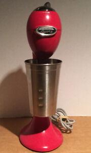 Hamilton Beach Electrics All-Metal Drink Mixer (Morrocan Red)