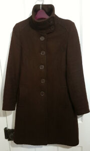 Womens winter coat 40% wool