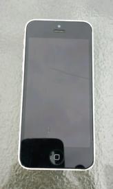 IPhone 5c, White, Spares or repair