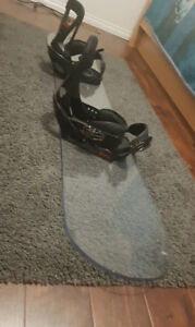 Sweet Snowboard for sale with bindings
