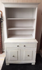 Old Solid Wood Hutch/Buffet