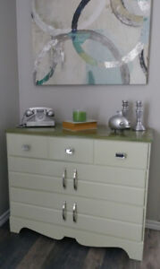 REFINISHED SOLID WOOD DRESSER