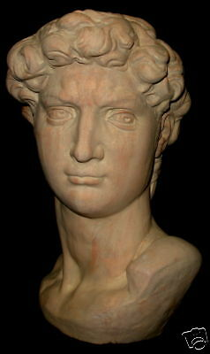 Vintage David Michelangelo Statue Replica Classic Art Sculpture