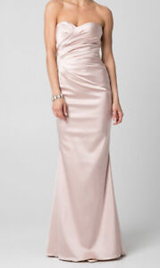 Satin Sweetheart Dress - Perfect for Prom!