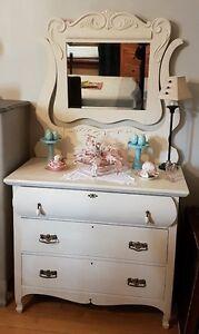 Spring Blossom Antique Dresser