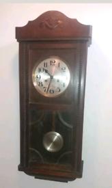 Antique oak Pendulum clock