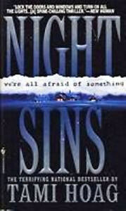 Night Sins-Tami Hoag-good condition paperback + bonus book