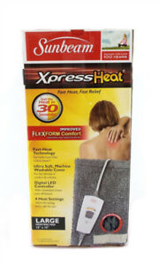 Sunbeam Xpress Heat Large Heating Pad