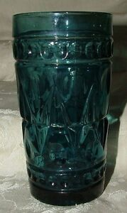 Vintage-Park-Lane-by-Colony-1950-60s-Smoky-BLUE-Flat-Iced-Tea-1-only