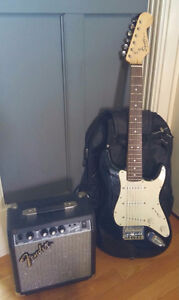 Fender Squire mini and Frontman 10G like new