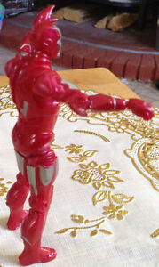 FIGURINE IRAN MAN RED AND SILVER 2010 MARVEL MVLFFLLC Gatineau Ottawa / Gatineau Area image 5
