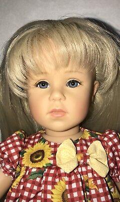 Gotz Doll Eileen 17 1/2' Gotz Doll Collection 2001