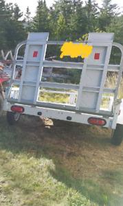 4x6 galvanized trailer