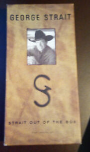 George Strait - Strait Out of the Box (Cassettes)