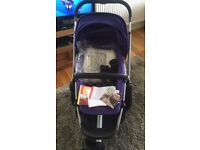 Quinny buzz xtra pushchair purple pace