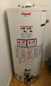 Giant 40 conventional gas water heater tank