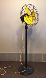 Ventilateur Industriel sur Pied Retro Vintage 5 pieds et demie