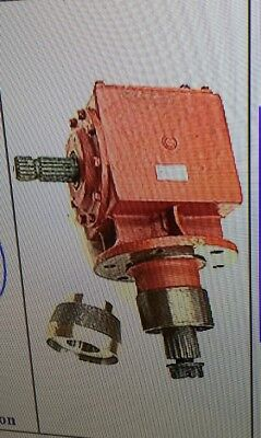 Universal Implement Rotary Cutter 130hp Long Shaft Gearbox 11.46 Ratio Increase