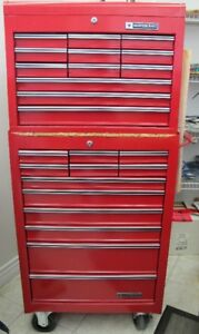Mastercraft Two Section Tool Cabinet–Excellent Condition