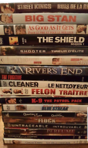 50 DVD Movies, Great Value...