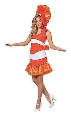 Fischkostüm Tropischer Fisch Plüsch Kostüm Kleid Clownfisch Tier Hai Nixe Ariel (Tropischer Fisch Kostüm)
