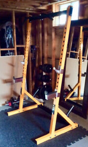 POWERTEC - Fitness WORKBENCH HALF RACK (WB-HR) Yellow Colour