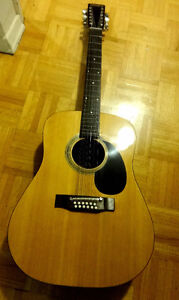 12 string EL DEGAS ACOUSTIC GUITAR