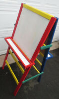 Rainbow Art Easel - Combo Chalk board and Dry Erase