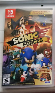 Sonic Forces comme neuf