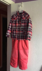5T snow pants and 3in1 coat Sarnia Sarnia Area image 1