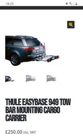 Thule Easy base towbar cargo carrier
