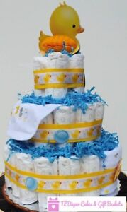 CLEARANCE- DIAPER CAKES