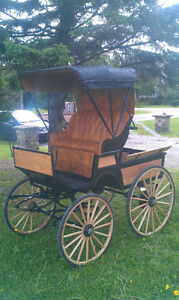 voiture a cheval