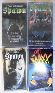 HBO's Spawn & MTV's The Maxx Animated Series VHS Lot