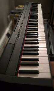 Yamaha P-115 88-Key Weighted Digital Piano with stand and pedal