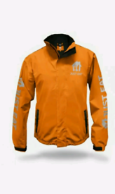 100% waterproof and windproof jacket with pockets