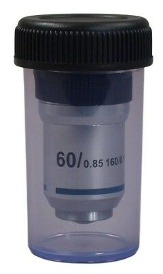 60x Achromatic Objective Lens For Compound Microscope