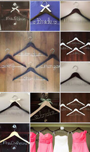 Personalized Wire Hangers, Cake Topper & Table Numbers - WEDDING Regina Regina Area image 9