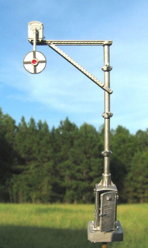 HO Scale Magnetic Signal Co. Model 3 Wigwag Flagman kit - Century Foundry (2190)