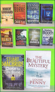 Lot of 10 Assorted Mystery Pocket Novels