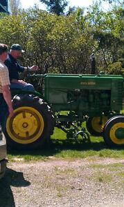 Vintage JD Model M Tractor for sale