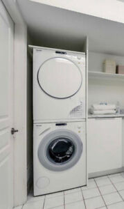 Miele Novotronic Front Load Washer & Dryer (Apt Size/Stackable)