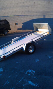 "Brand New 54"" x 10ft Tilt Deck Trailer Peterborough Peterborough Area image 2"