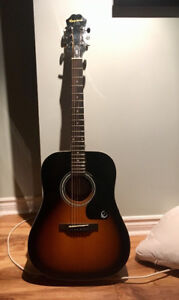 ACOUSTIC GUITAR! Epiphone - 6 months old, barely used - 10/10