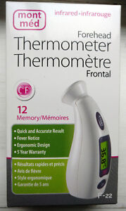 BRAND NEW ! !! MontMed - Infrared Forehead Thermometer