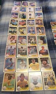 35 1981 Fleer Baseball Cards - Great Shape