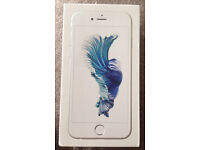 iPhone 6s | 64GB | O2 | Silver | Great Condition | 6 months old