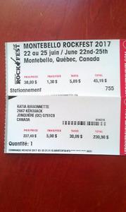 ROCKFEST - billet CAMPING VIP et STATIONNEMENT