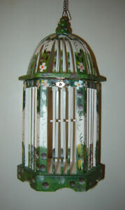 Painted Birdcage.
